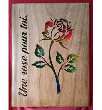 Une rose pour toi